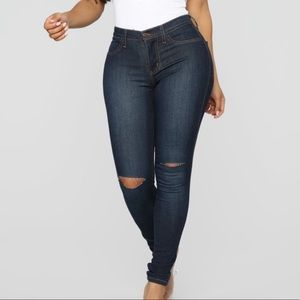 Canopy Jeans -Dark Denim